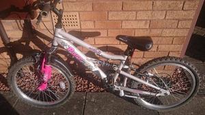 Pure apollo 20 inch mountain bike in great cond