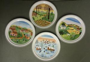 Quatre saisons plates - villeroy and boch