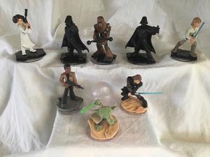 Set of 9 Disney infinity 3.0 star wars