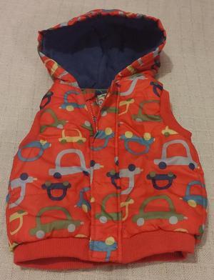 TU Baby Boys Red Cars Design Gilet/Body Warmer  Months