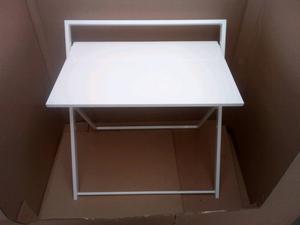 Brand new white folding desk rrp £45