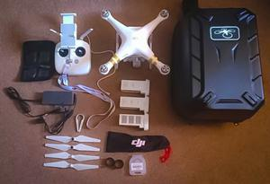 DJI Phantom 3 Professional with lots of extra's