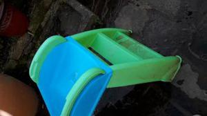 Little tikes first slide in blue and green