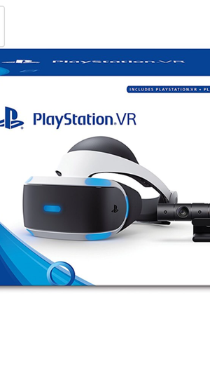 PS4 vr camera with headset