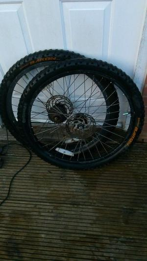 "Pair (2x) Continental Baron 26x2.3"" Downhill Enduro Trail Mountain Bike Tyres"