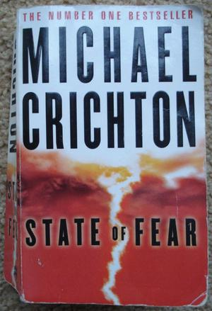 """STATE OF FEAR"" BY MICHAEL CRICHTON – PAPERBACK BOOK"