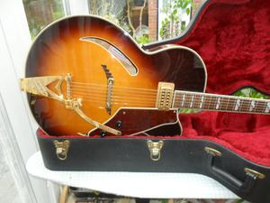 gretsch g400cv synchromatic archtop semi,japan.px poss