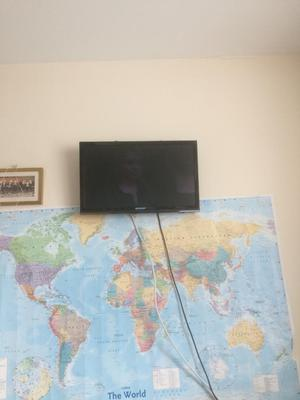 20 inch sharp TV with remote control