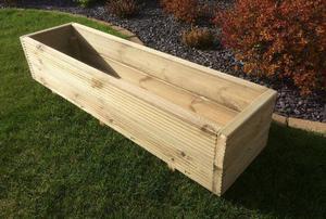 Bespoke Handmade Wooden Decking Planter