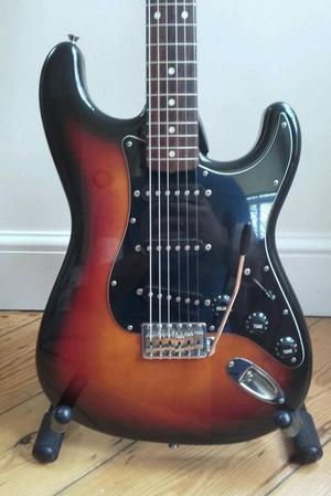 Fender Squier Japan  Stratocaster Silver Series MIJ