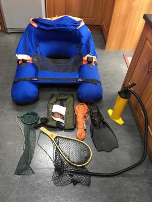 Float Tube and kit for sale.