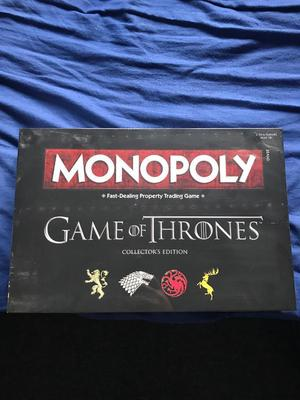 Game of thrones monopoly brand new