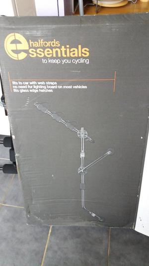 Halfords Rear High Mount 3 Cycle Carrier Posot Class