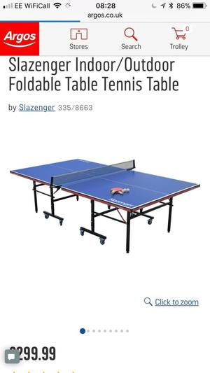 Cornilleau Equinox Outdoor Table Tennis Table 5 Ft Posot