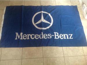 Mercedes Benz flag in Wimborne