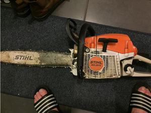 Chainsaw in Leicester