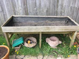 Vegetable trough