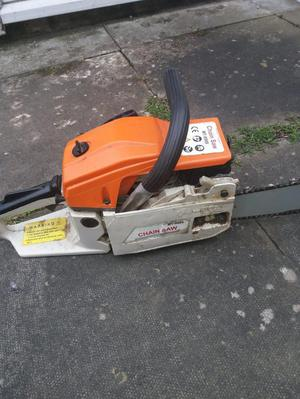 1 gas and 2 electric chainsaws - all for £100 ONO
