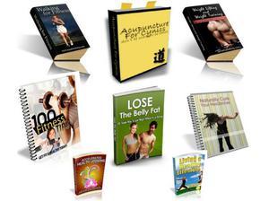 100 Fitness & Health eBooks With Resell Rights.PDF + BONUS