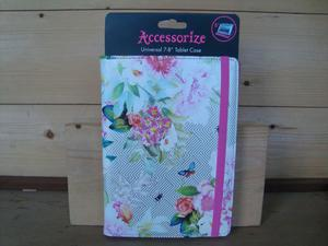 """Accessorize Botanical Universal 7"""" to 8"""" Tablet Case"""