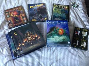 Call of Cthulhu 7th Edition Book Collection