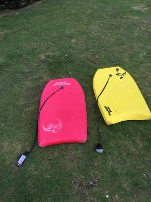 2 boogie boards, bodyboards, water sports for Sale £15
