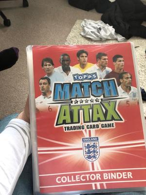 Match attax  World Cup full binder