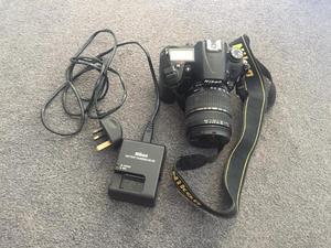 Nikon D with tamron mm lens
