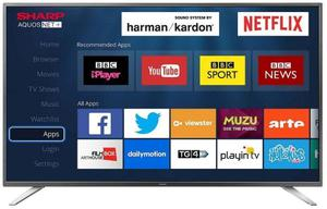 Sharp LC-49CFGK 49 Inch Smart Full HD LED TV Freeview HD