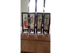 Vintage Japanese minature screen in Southampton