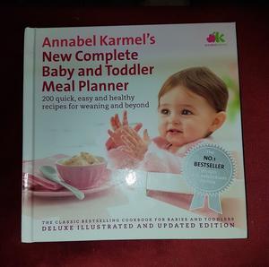 Annabel Karmel baby/toddler meal planner