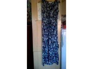 East maxi dress blue white and navy size 12 in Portsmouth