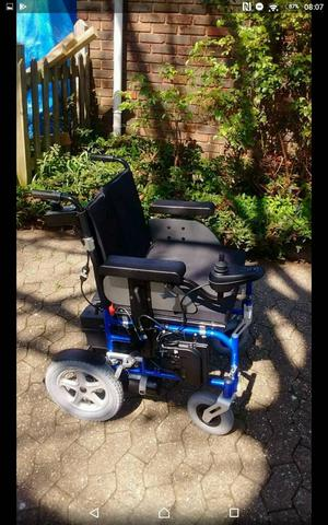 Electric Wheelchair with Dual control