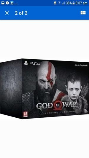 GOD OF WAR 4 COLLECTORS EDITION
