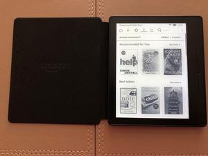 Amazon Kindle Oasis 4GB, Wi-Fi, 6in -Black with Burgundy