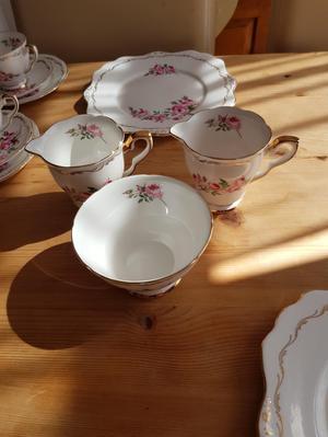 Bridesmaid Royal Stafford 41pce teas set