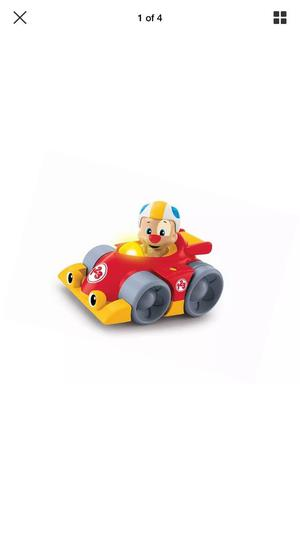 """Fisher-Price CDJ08 """"Laugh and Learn Puppy's Press 'n Go"""" Car"""
