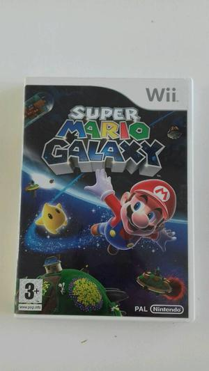 Nintendo wii super Mario galaxy game