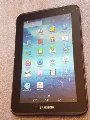 "Samsung Galaxy Tab 2 GT-PGB in Black - 7.0"" Android"