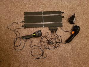 Scalextric track all in good condition with controllers