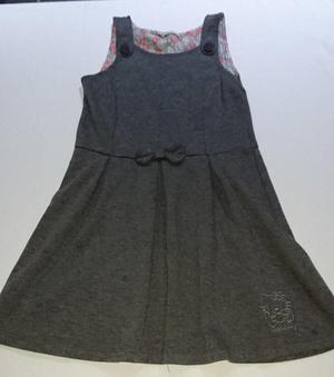 3 x Girls Grey School Dresses