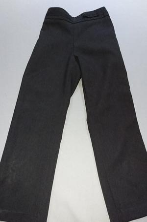 3 x Girls Grey School Trousers