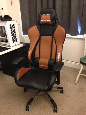 AK Racing Premium Gaming Chair Black/Brown