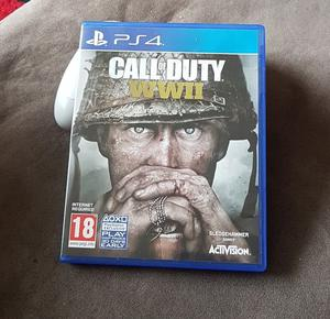 Call of duty WWII. PS4