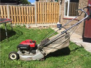 Honda hr 194 self propelled roller petrol lawnmower. in Hull