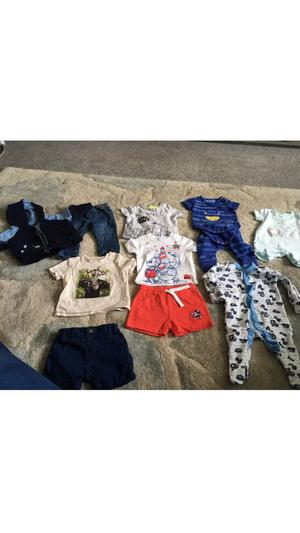 Large bundle of baby boys clothes 0-3 months