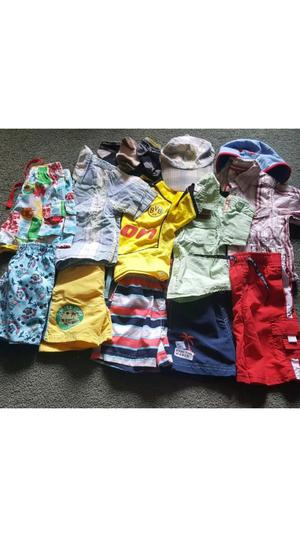 Large selection of baby boys summer clothes 6-12 months