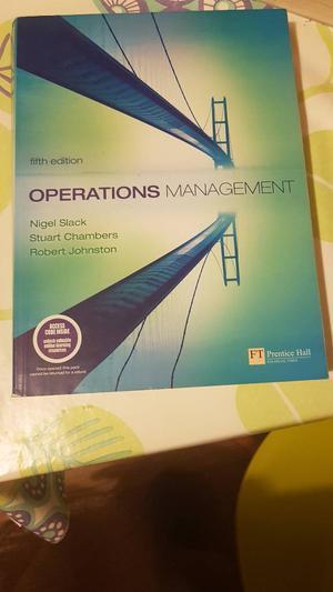 Operation Management Objectives