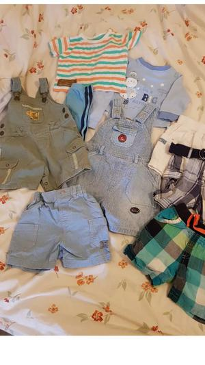 Selection of baby boys clothes 3-6 months
