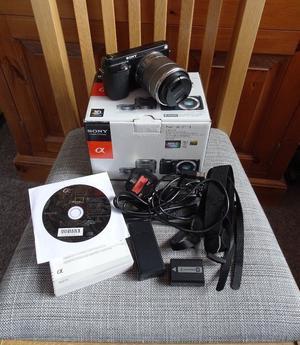 Sony Alpha NEX-F3 Digital Camera with mm Lens